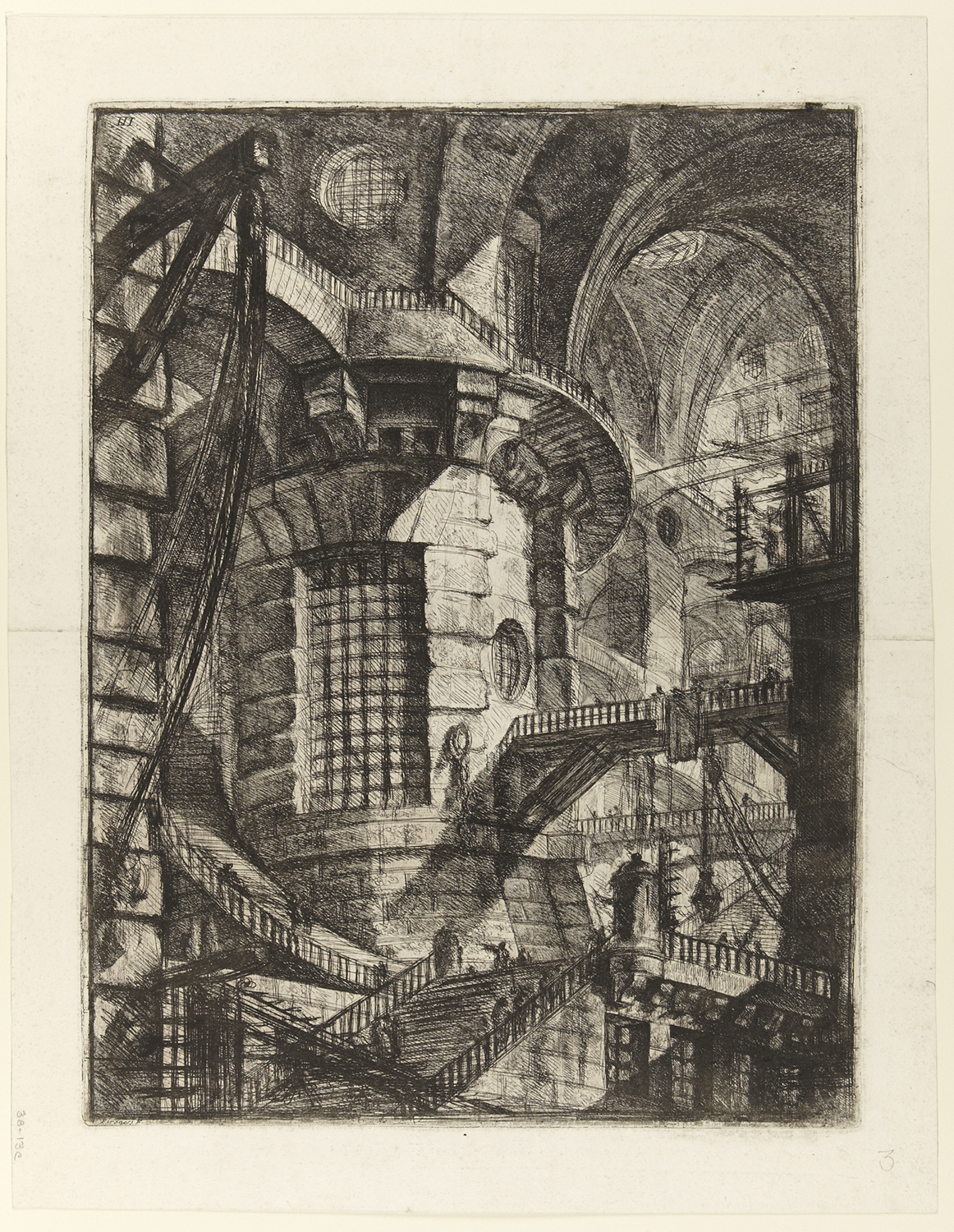The Tower by Giovanni Piranesi  Created: 1761 date QS:P571,+1761-00-00T00:00:00Z/9