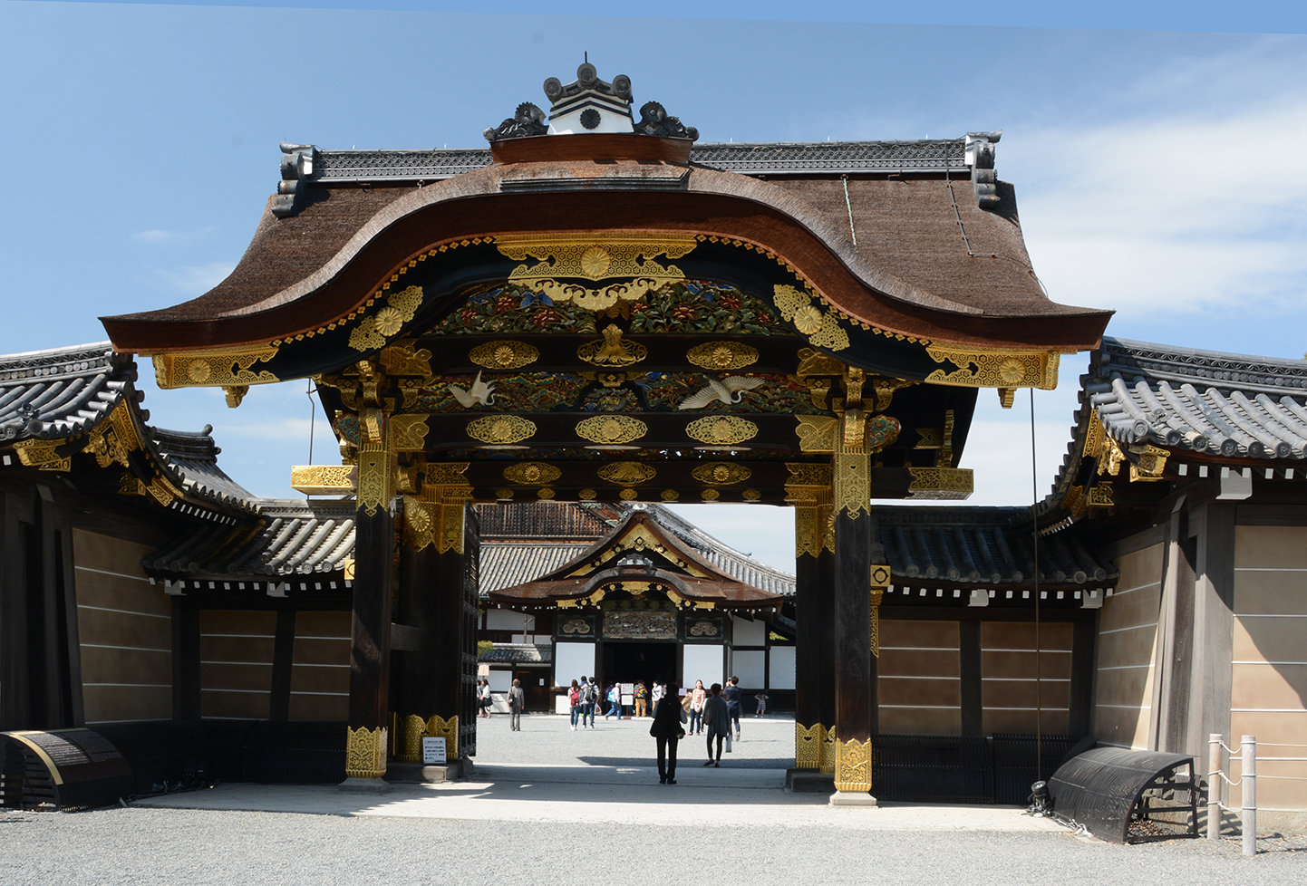 Imperial Palace Gate, Kyoto