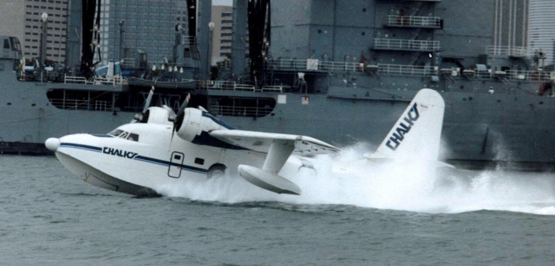 Grumman HU-16D Albatross Chalks MIA 03.87