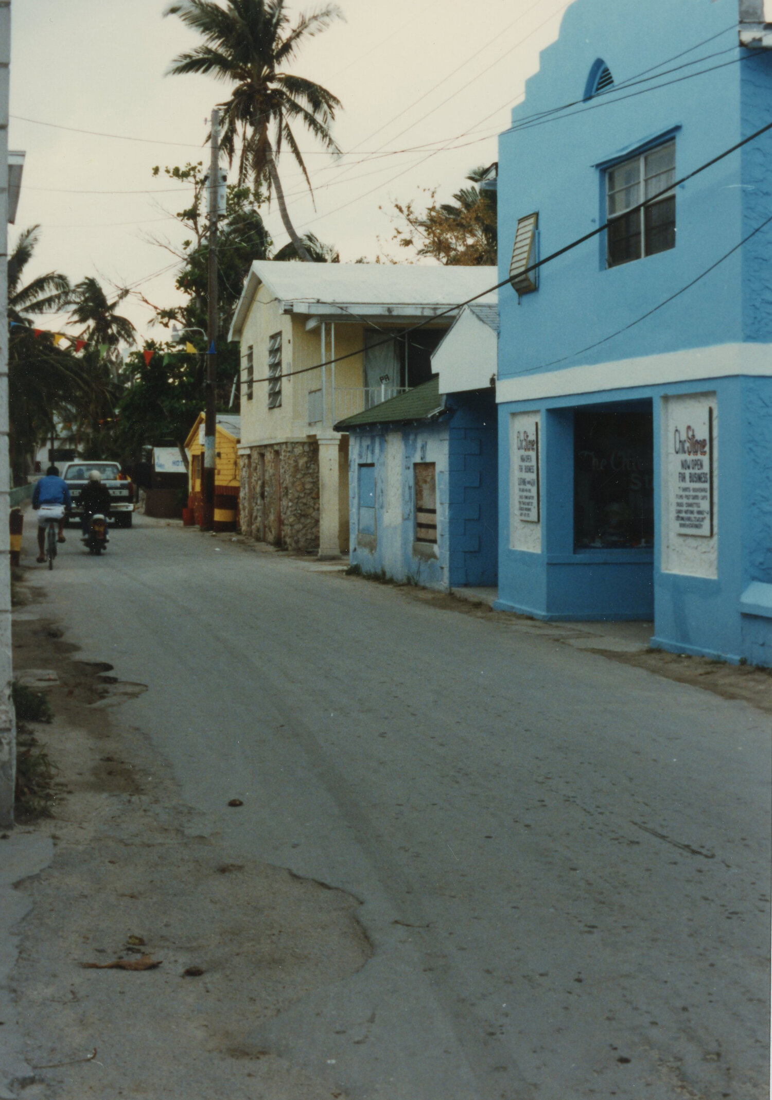 King's Highway - the main drag in Alice Town