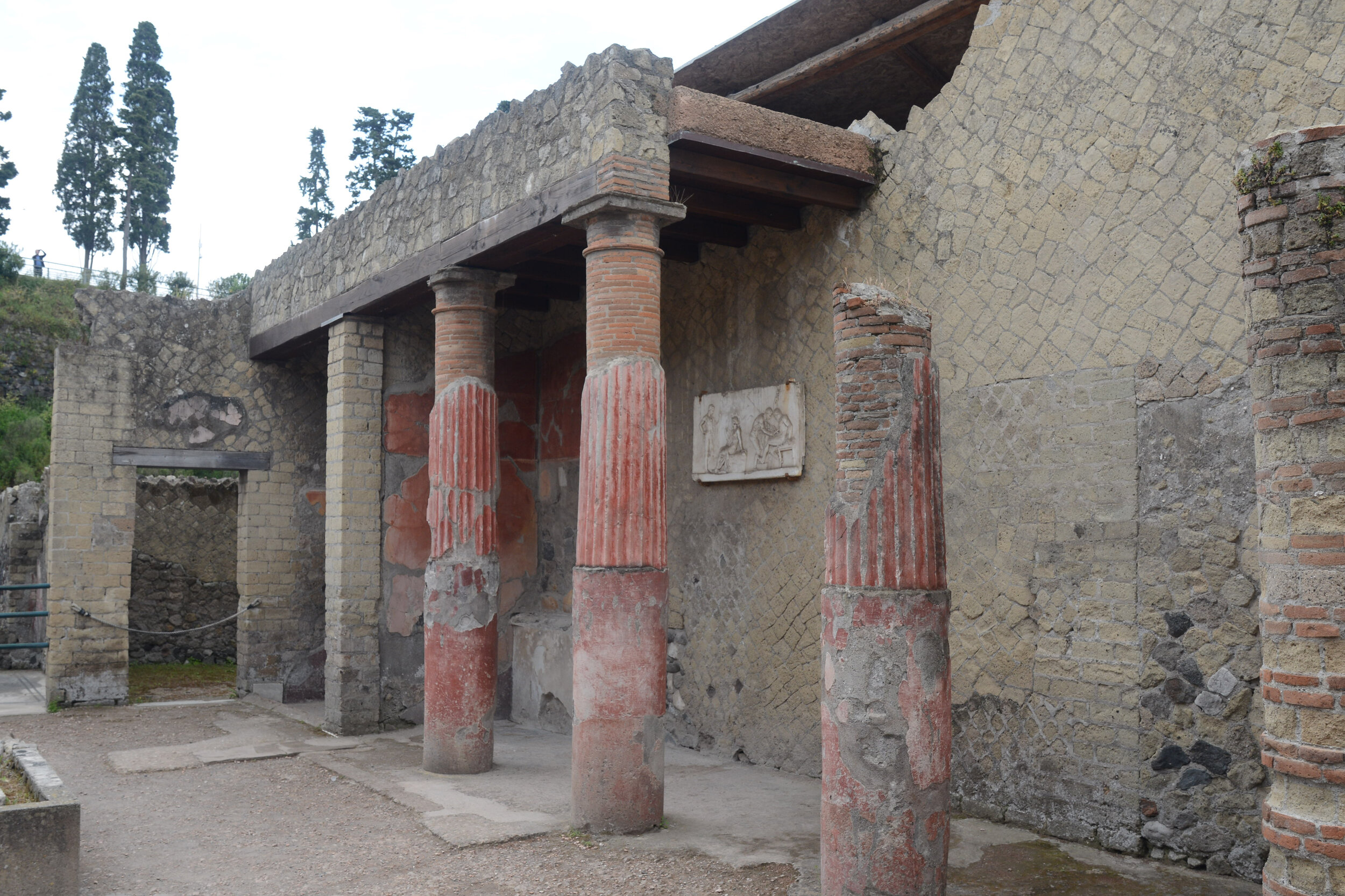 Courtyard of 'House of Telefus Relief