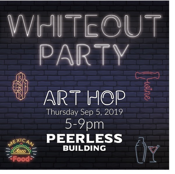 Summer's not over yet 😉 come hang out with us as we wave goodbye to #summer2019 👋🏻 Drinks, food, and fun what more can you ask for 🙃 #arthopfresno #downtownfresno #peerlessbuilding