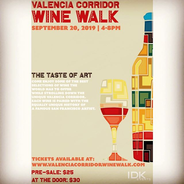 Just when you thought the wine walk fun was over. Our final stop in the Summer Wine Tour is almost here! Mark your calendars! Tickets are just one click away #linkinbio #sanfrancisco #winestagram #winelover #sanfranciscoevents