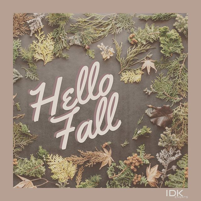 Fall is here 🍁 what are you most excited about? 😊 #fallishere #fallismyfavorite