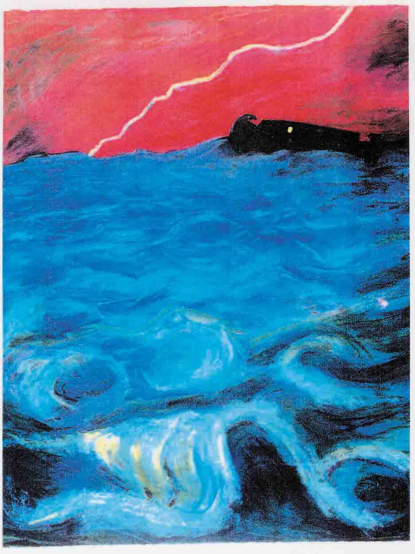 Noah's Ark (pastels) ©irenejuliawise