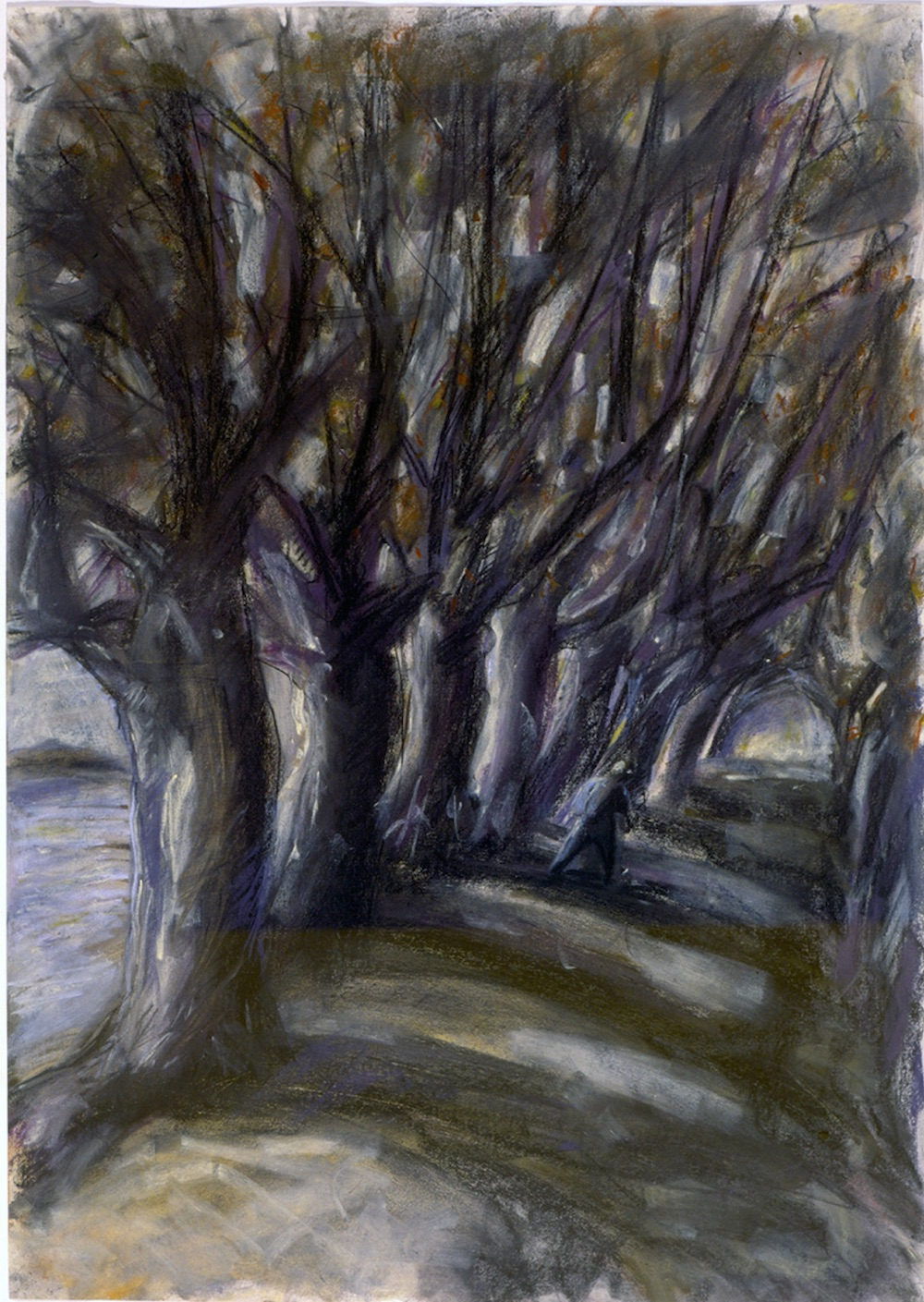 Avenue of Trees (pastels) ©irenejuliawise