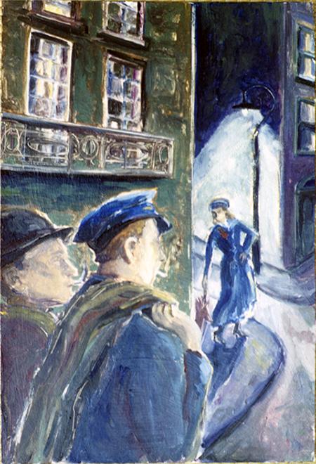 James Joyce, Dubliners: Two Gallants ©irenejuliawise