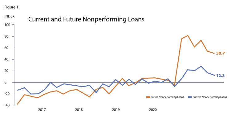 Source: Federal Reserve Bank of Dallas – November 2020 Banking Conditions Survey