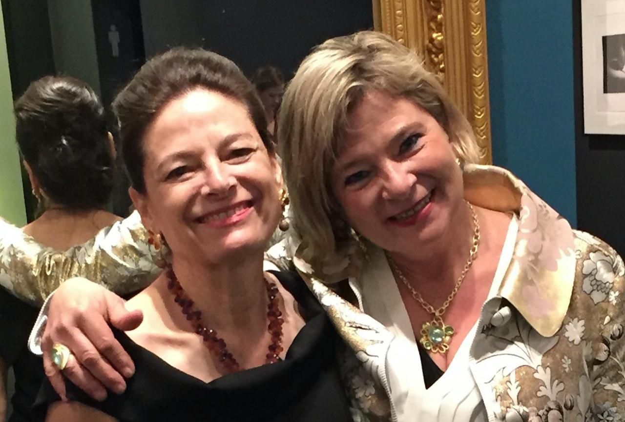 Mary Hughes and Caro-Gray Bosca