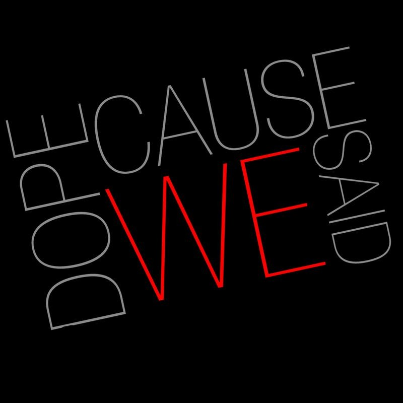 """Our new pals at """"DOPECAUSEWESAID"""" LOVED our new record!"""