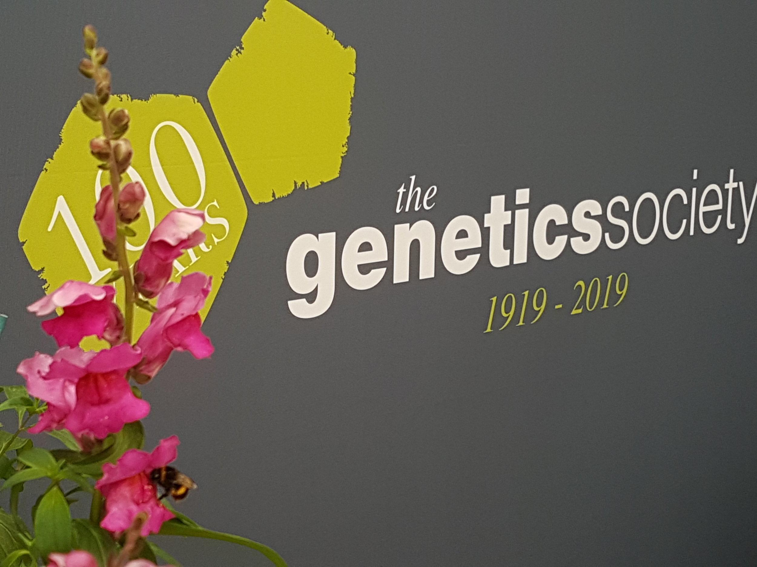 Celebrating the Genetics Society's centenary year