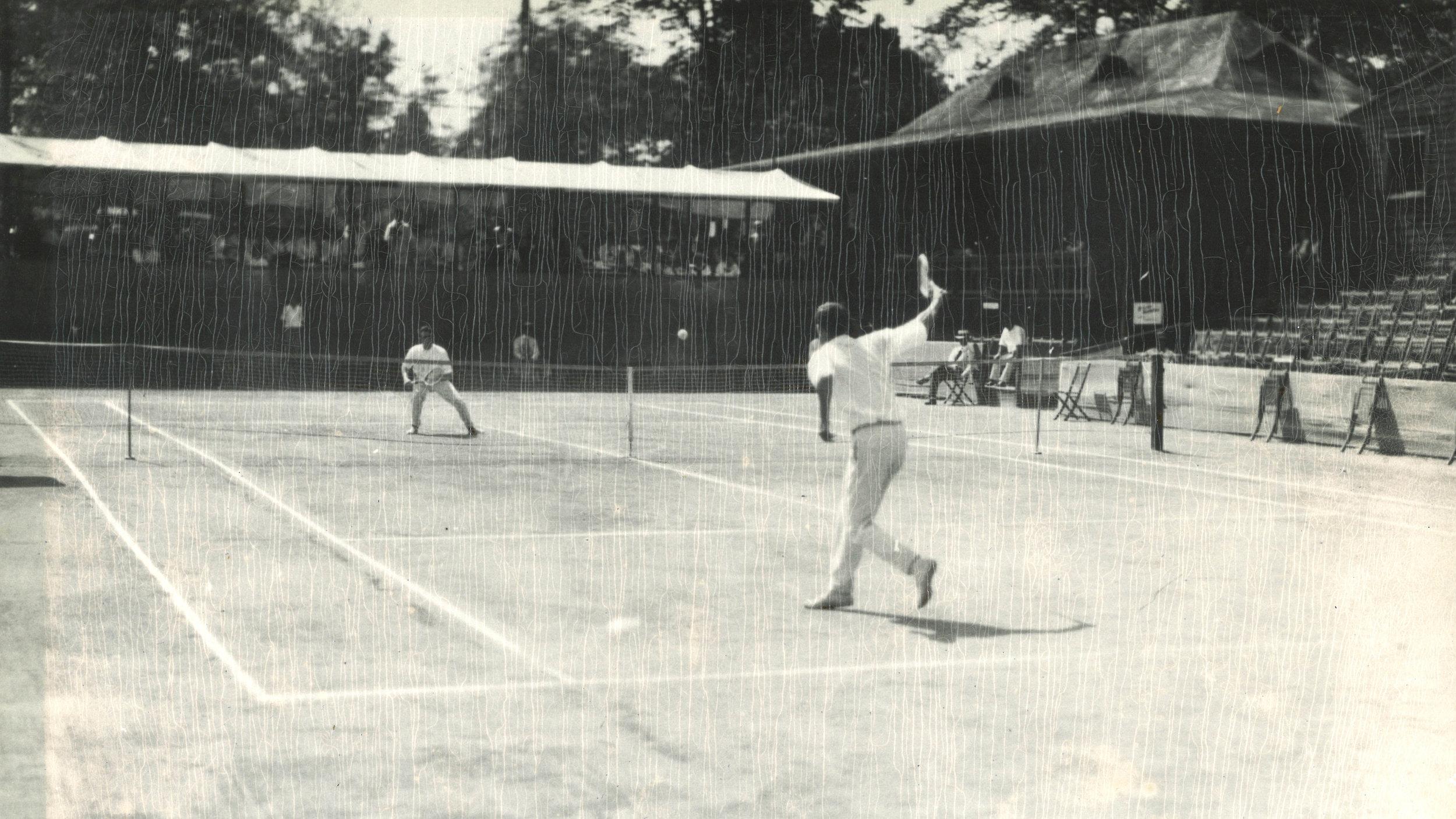 Practice round in 1916