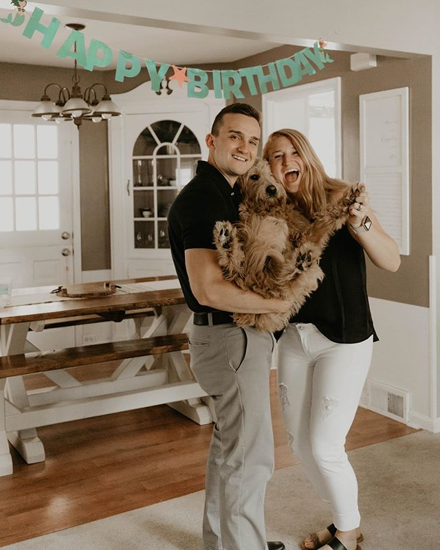 HAPPY BIRTHDAY TO MY HUSBAND!!! 26 has never looked so good, babe. 🤪 I love you with all my heart & love doing life with you, and our sweet lil Bailey. Thanks for keeping me sane & happy, and loving me with all your heart! You sure are special and make everyone around you feel loved. Keep being you & you will do amazing things! Love you so so much!!! ✨🤘🏻
