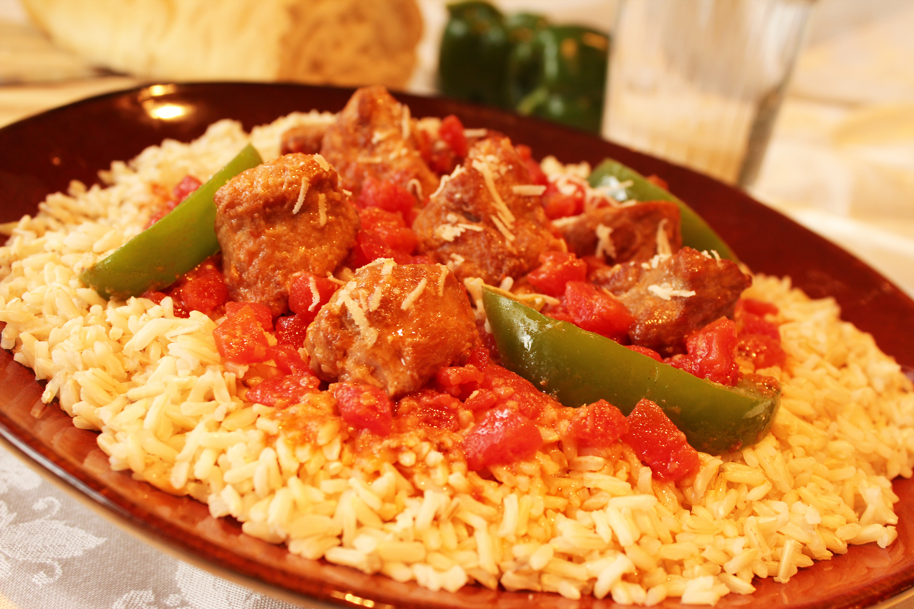 Italian Veal and Pepper stew