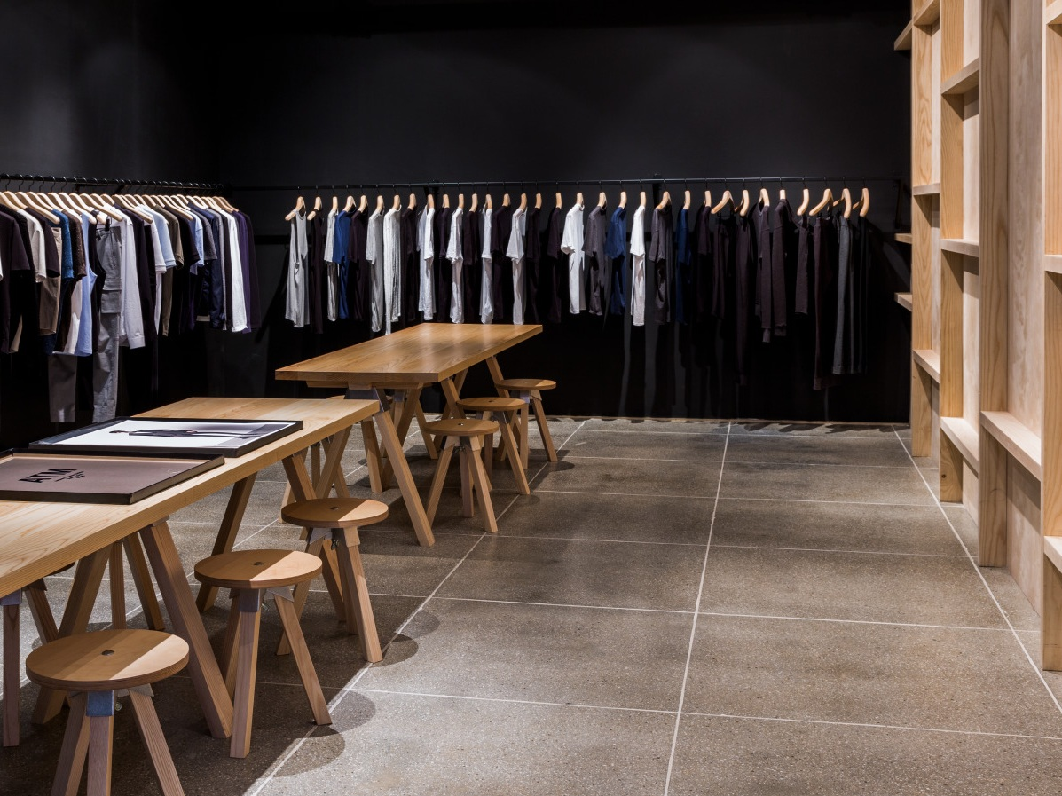 RETAIL - Designing Spaces in the fashion industry that create unique backdrops for custom engagement that allow clothing to take center stage