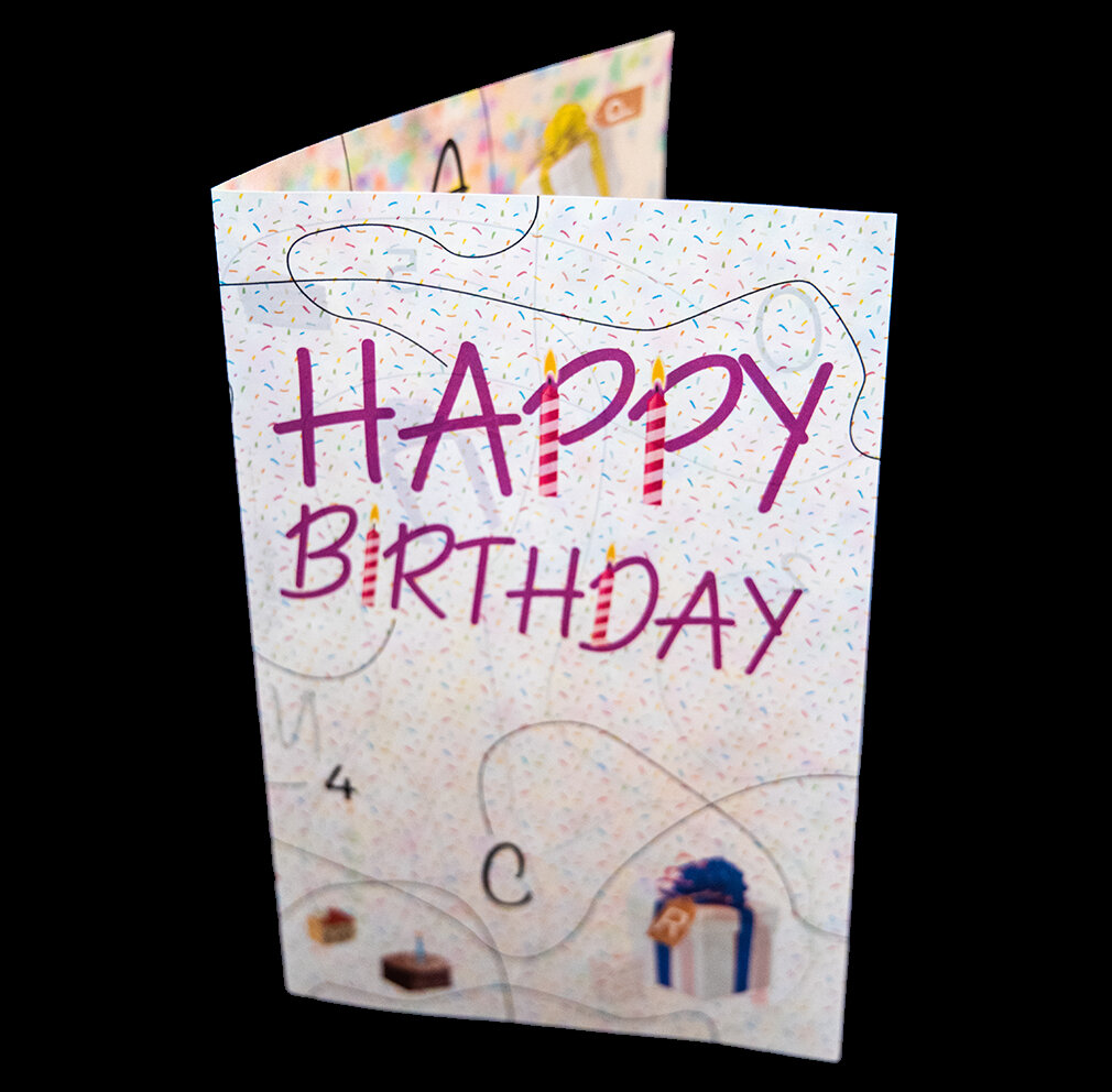 Birthday Escape Card