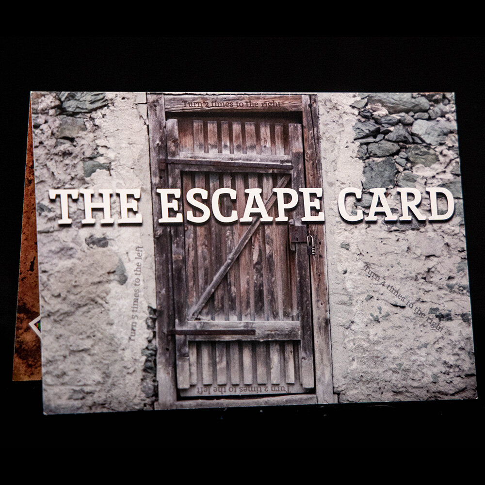 Escape Card - Greeting cards