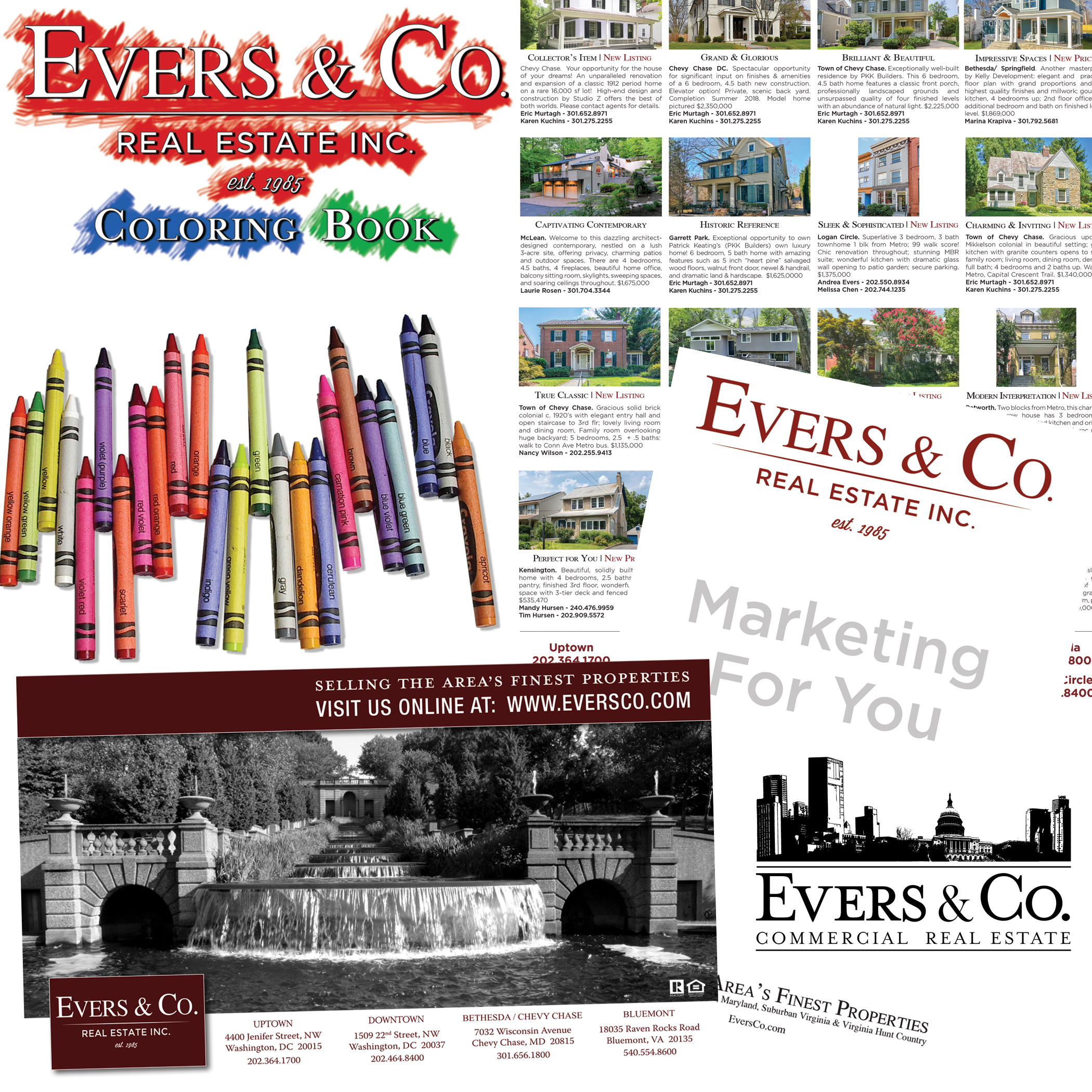 Evers & Co. Real Estate, Inc. - Top Real Estate Brokerage ~ Design Study