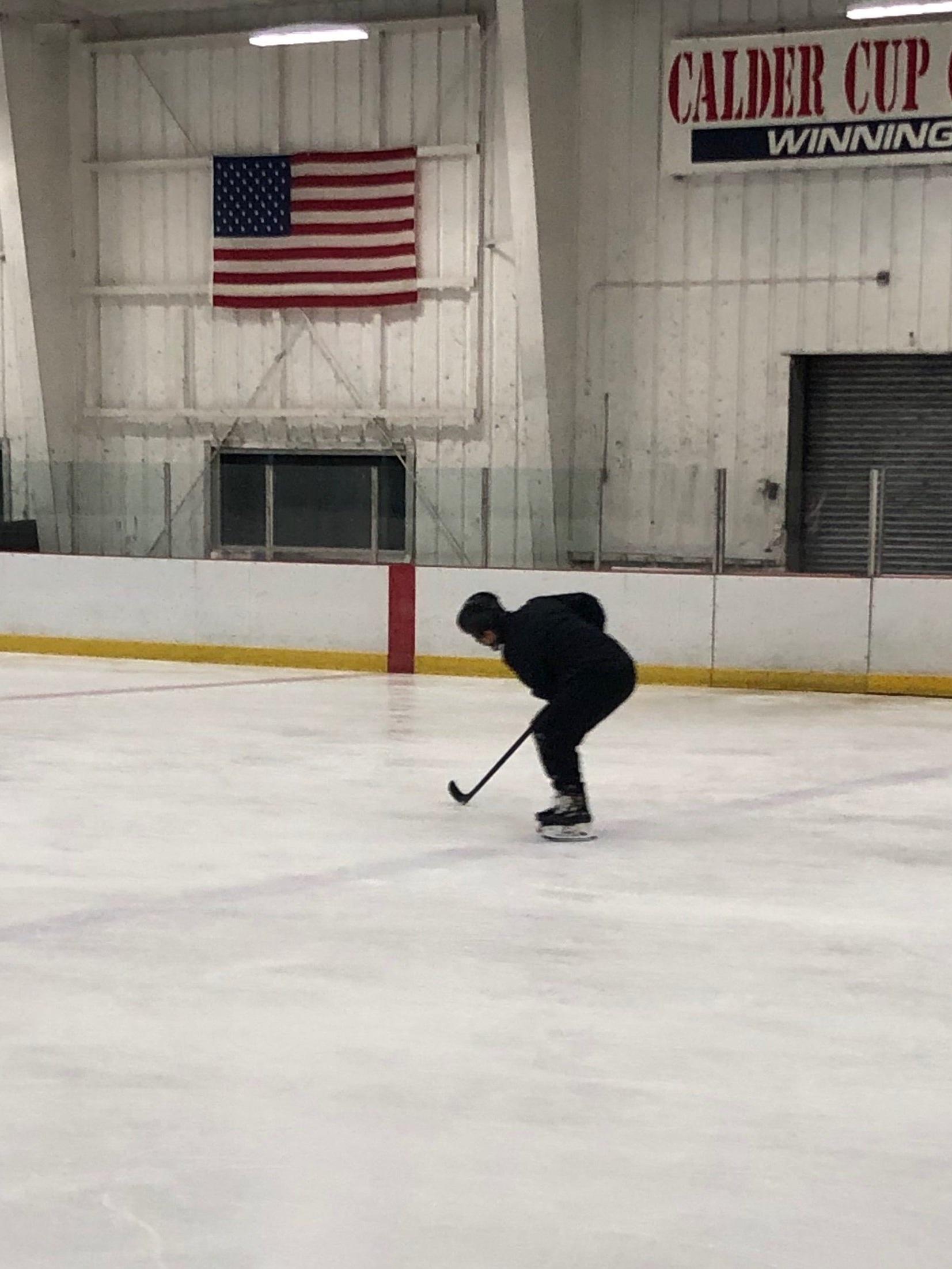 Chris Cahill hard at work