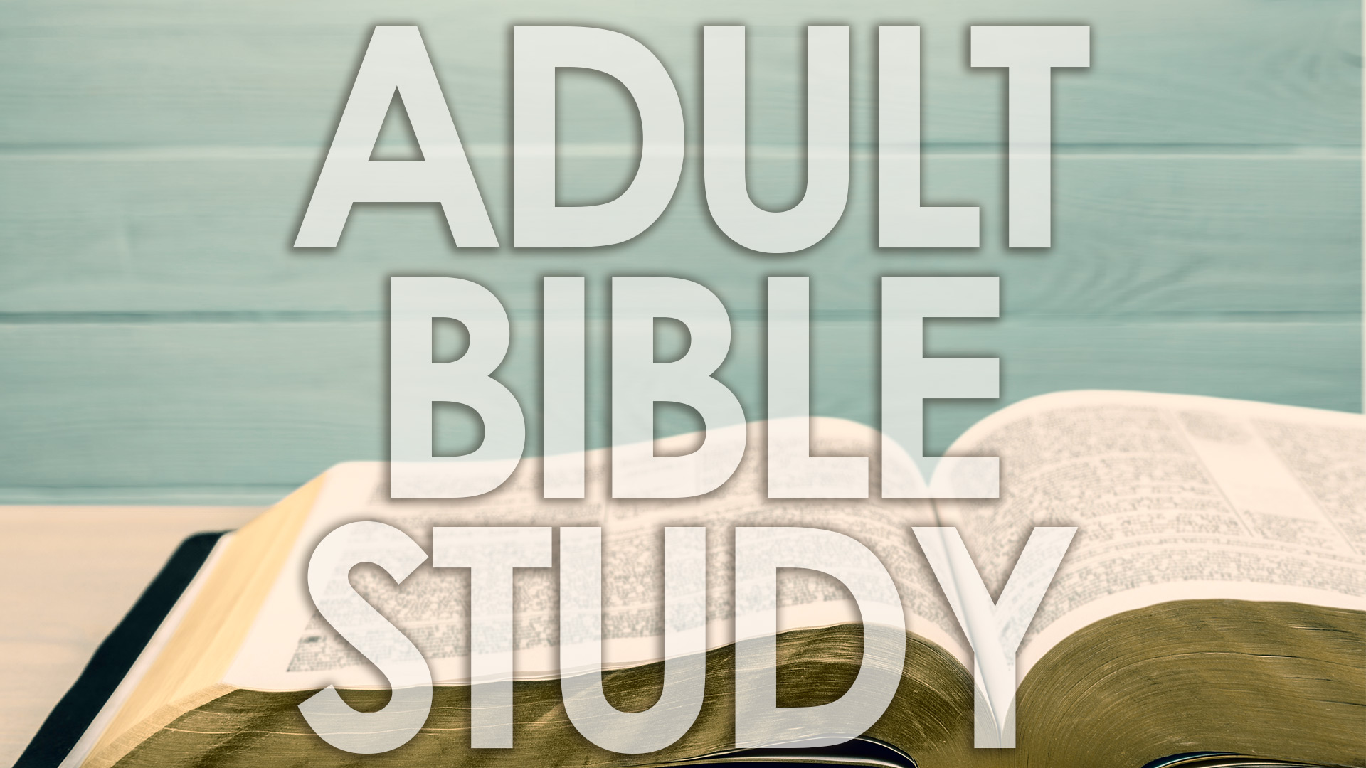 Bible Study — Woodland Hill Baptist Church OK
