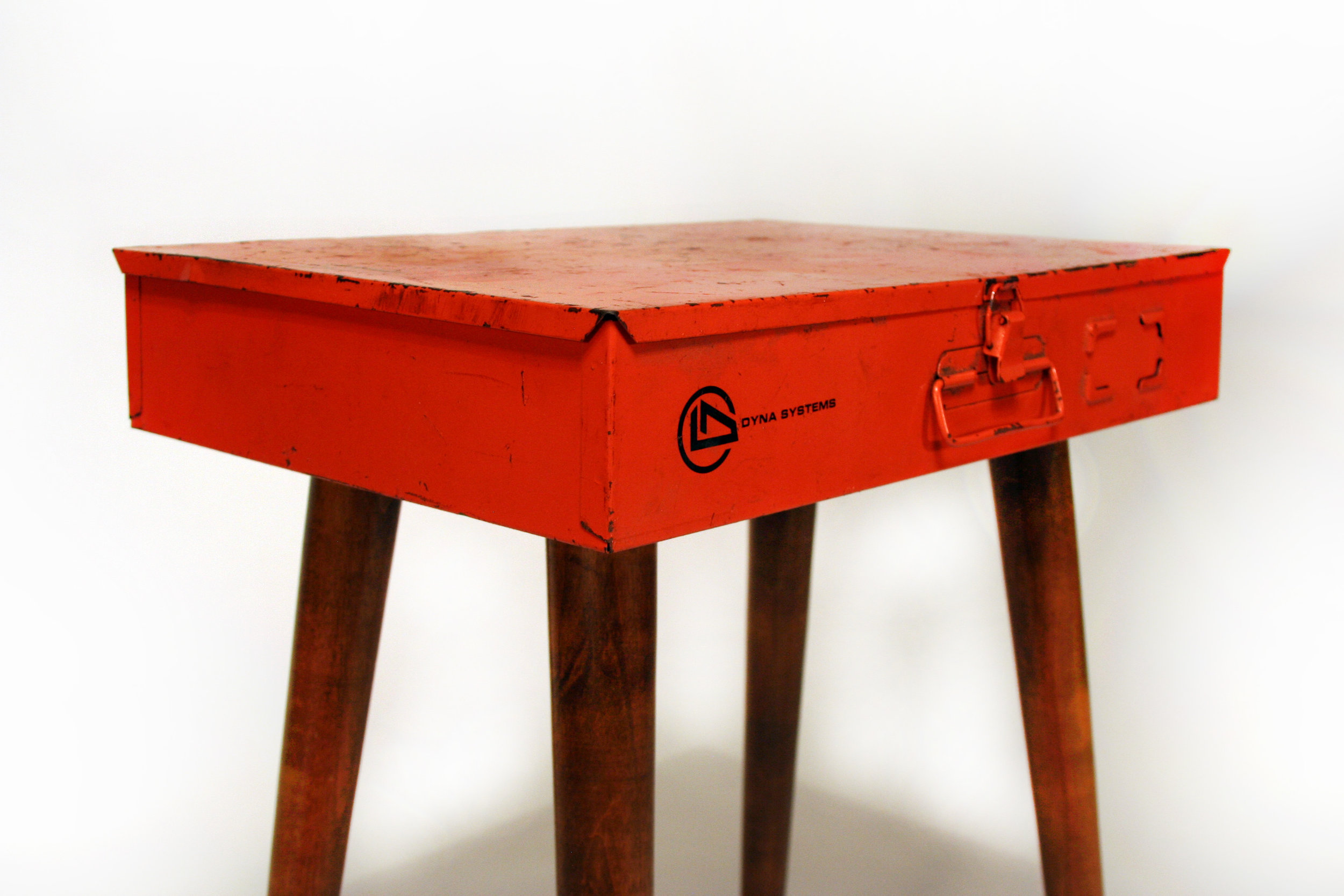 Orange Parts Table, 2018