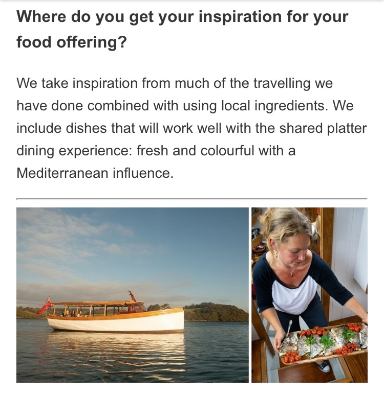 Greenbank hotel Q&A - A questions and answers blog with the Greenbank hotel, take a look to hear about inspiration for Blue River Table and the food created onboard.Read the blog here