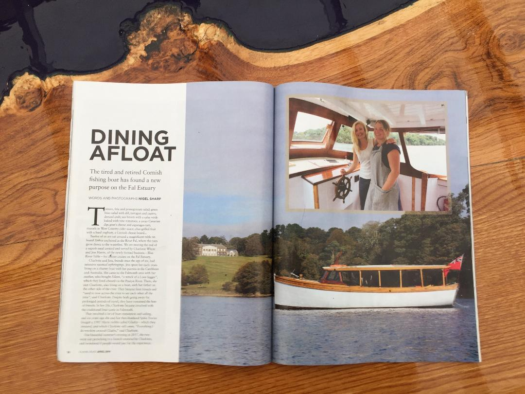 Classic Boat Article - April's issue in classic boat magazine- read about our charters on board Tethra and rebuilding her for her new lease of life back on the water.