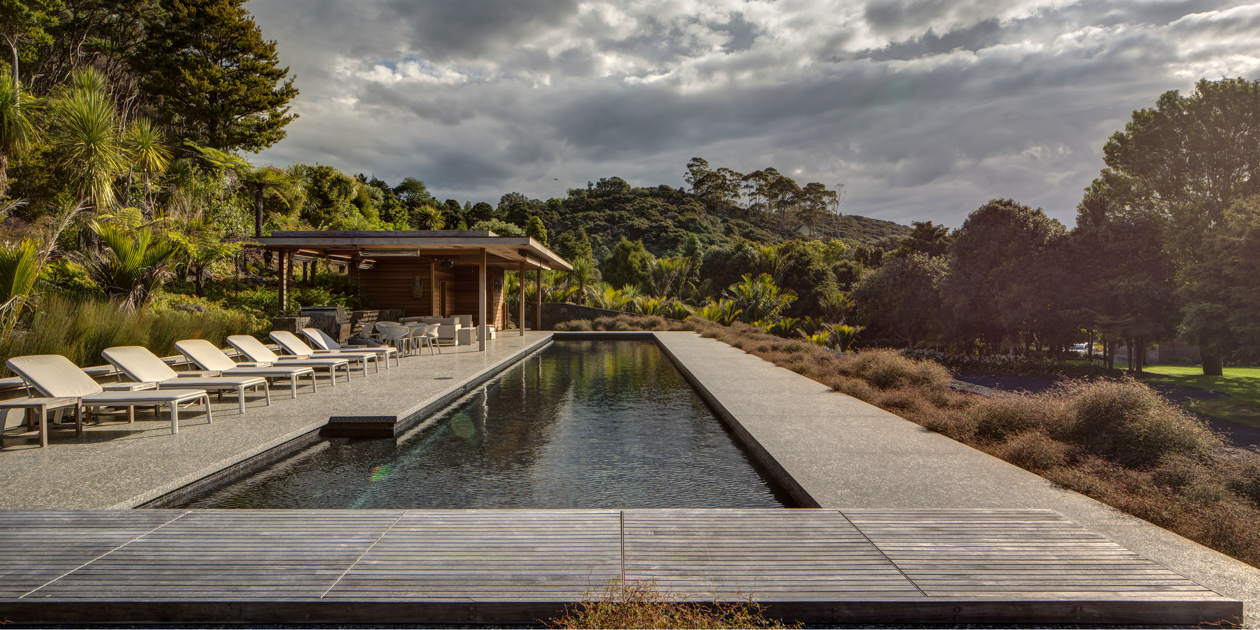 Pool Pavilion |  Noel Lane Architects, in association with RB Studio