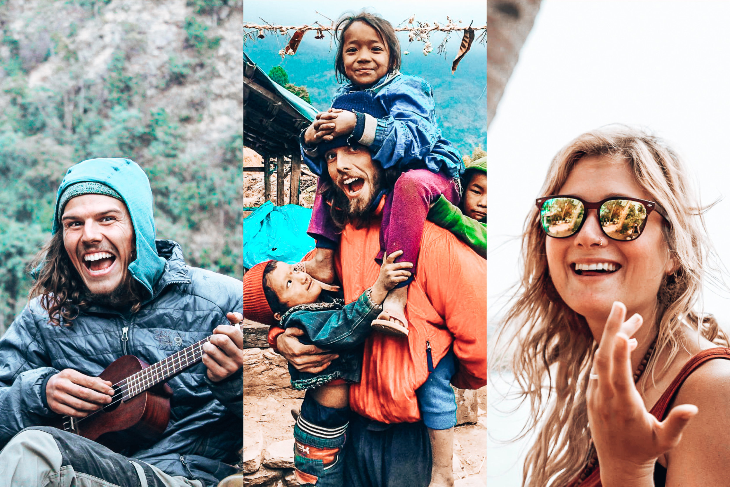 Dharma Trips. - We're rethinking group adventure travel.We're a close knit team of friends—climbers, skiers, scuba divers, yoga instructors and surfers who met in the 2015 Nepal earthquake. Since then we've founded a nonprofit, rebuilt a school, given support to 10 different communities throughout Nepal and we want to keep giving.How? Easy.By taking you traveling and sharing the life changing experiences we've had.