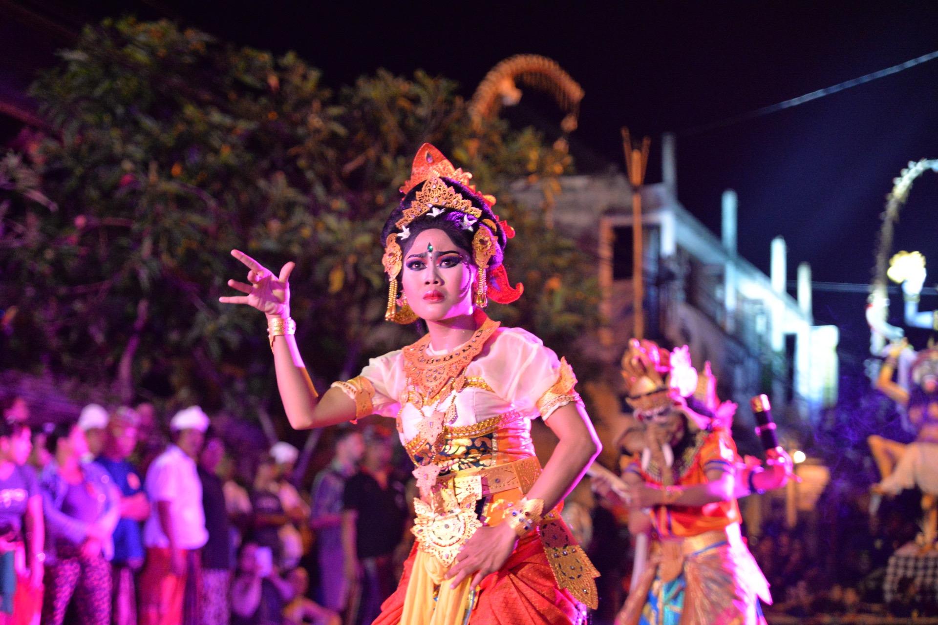 A traditional Kecak dance awaits in the Kingdom of Ubud