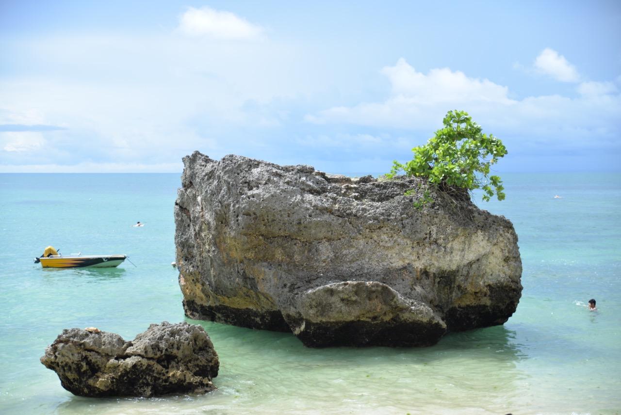 Swim or snorkel the crystal clear waters of Padang Padang Beach