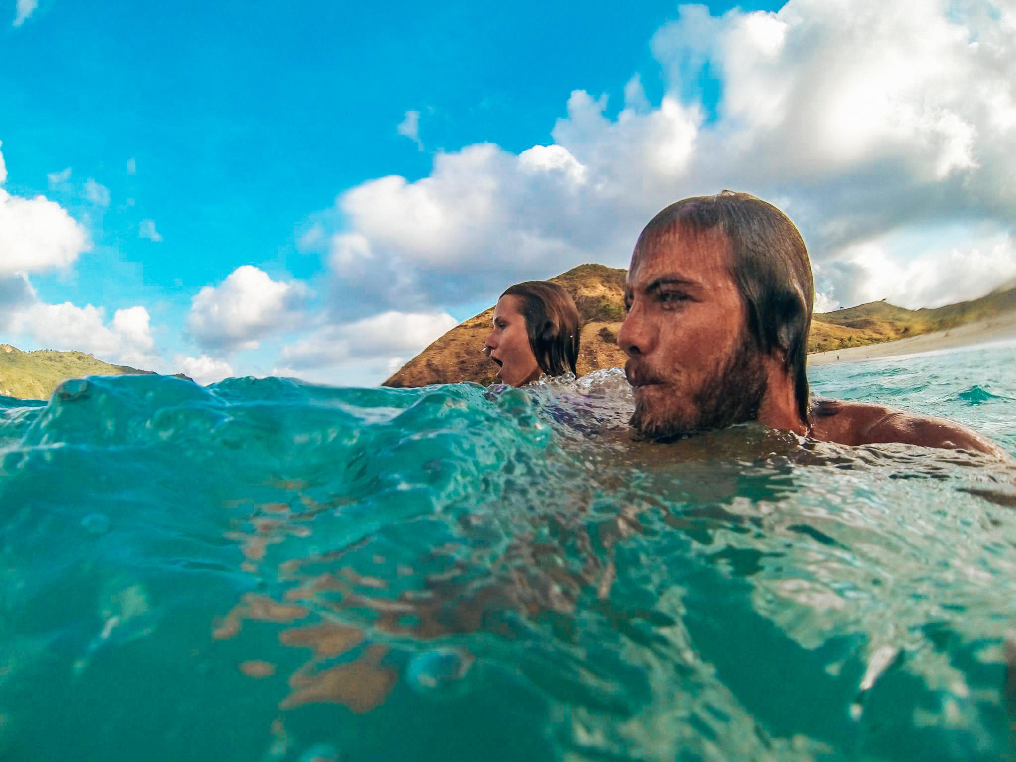 Surf & swim world renowned Echo Beach