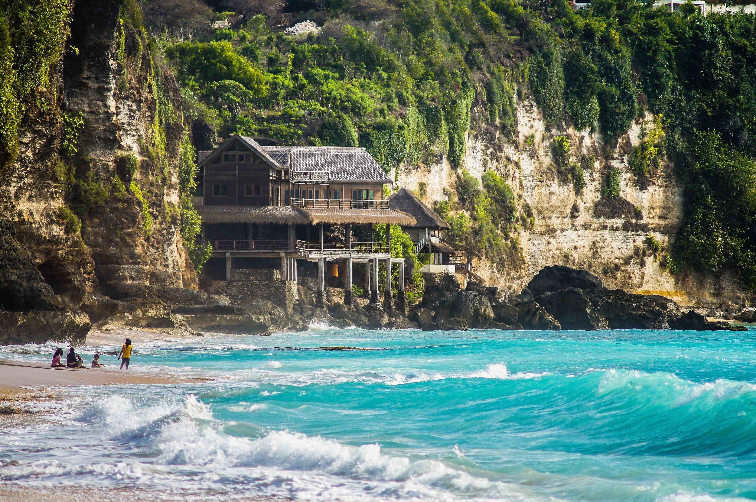 Stroll down to the beaches of Uluwatu