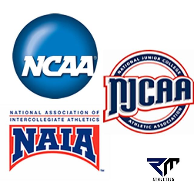While you, as a student-athlete, are searching for schools that can be a right fit for you...you have to make sure you look at ALL your options.⁣ ⁣ While the NCAA is very well known association , there are other routes you can take like NJCAA and NAIA! ⁣ ⁣ NJCAA (National Junior College Athletic Association) is an association of community college and junior college athletic departments throughout the United States. It is divided into divisions and regions. ⁣ ⁣ NAIA (National Association of Intercollegiate Athletics) is a college athletics association for small colleges and universities in North America but has been growing very rapidly over time. As of the 2018-2019 season, it has 251 member institutions. ⁣ ⁣ During your process, keep these associations in mind! If there are any questions or concerns please feel free to email us or reach out to us through our social media! ⁣ ⁣ Good luck on your journey! ⁣🙌🏼 ⁣