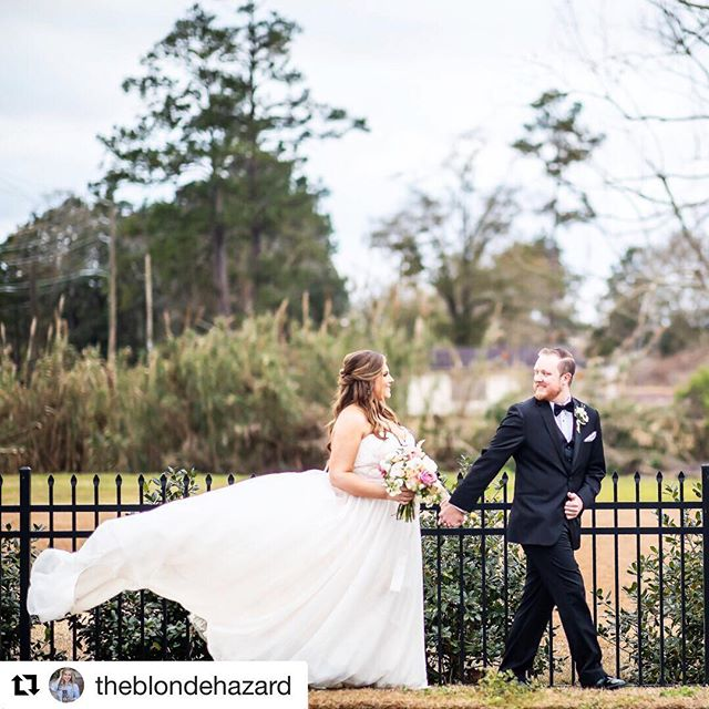 "#Repost @theblondehazard with @get_repost ・・・ Gahhhh Kara and Alan what a perfect day! Gimme a flowy dress all dayyyy! Special thanks @potusbrooke for the awesome ""wind like"" dress throw. @karaebush @alancmurdock"