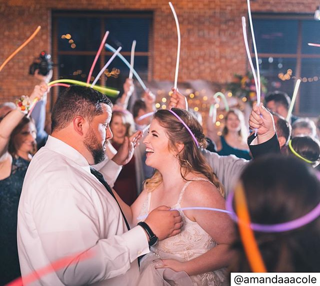 This has us so excited for all the weddings this summer! ........................................................... #Repost @amandaaacole  Sitting here on a Tuesday, wishing I could go back to the best party of my life.