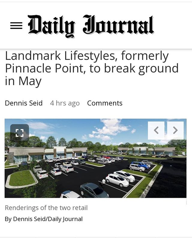 Land and space available at Pinnacle Point / Landmark Lifestyles mixed-use project in Tupelo. Read about it here:  www.djournal.com/tncms/asset/editorial  Contact us at 662-842-8283 or www.trirealestate.net