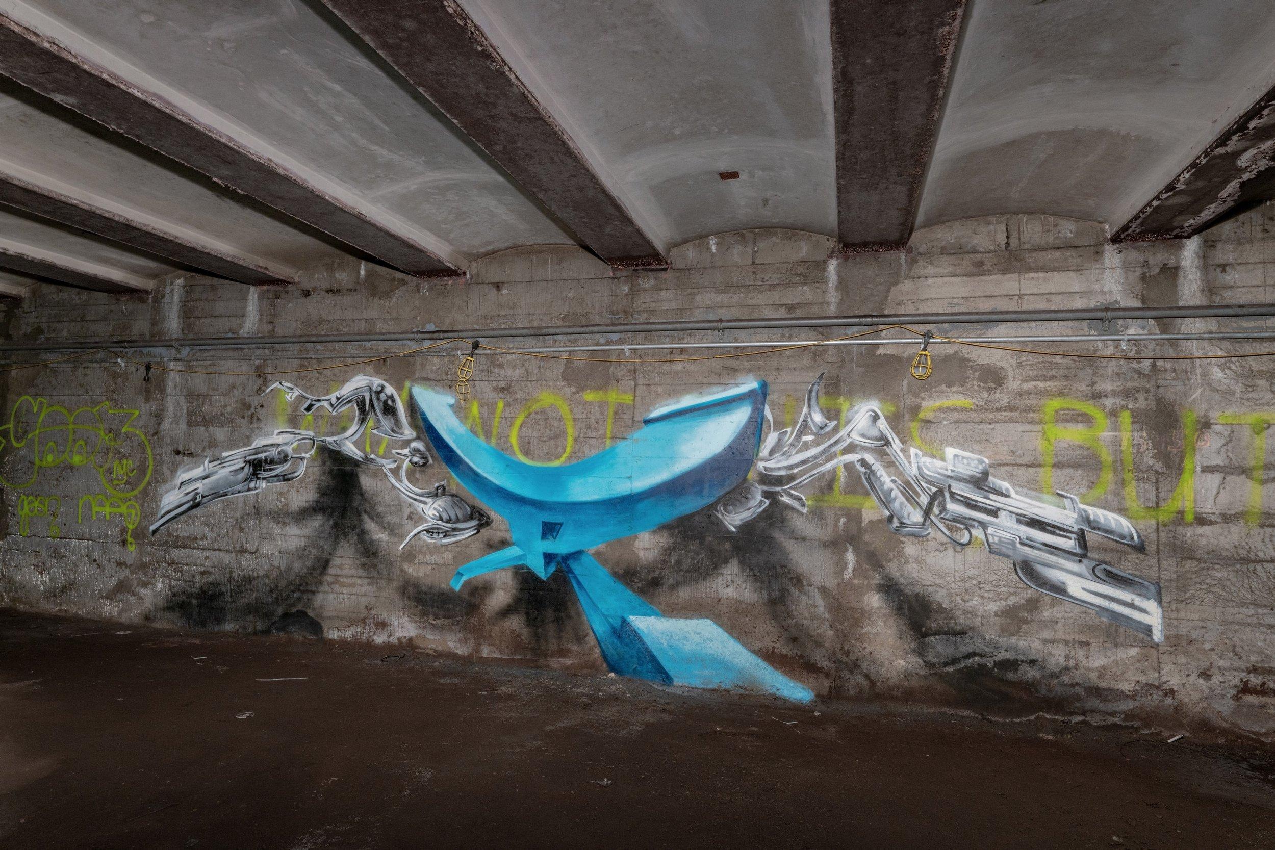 GRS 3D Mural