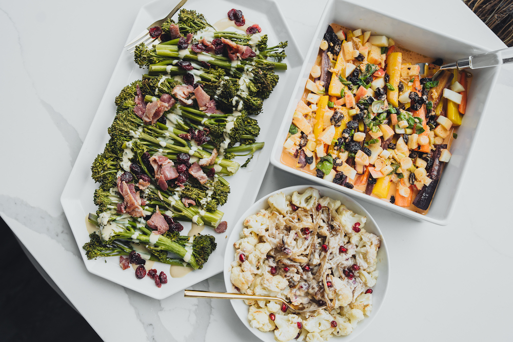 Monika Dixon of Monika Dixon Public Relations got the hottest tips from Ashely Walter on how to make healthy side dishes for the holidays.