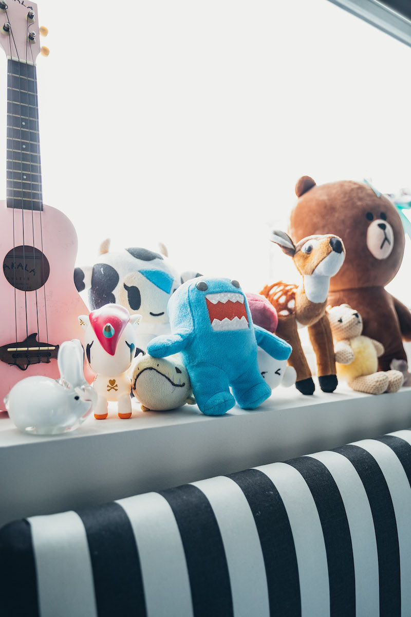 Toys from  Rotofugi ,  West Elm  and  Line Friends   Photography by Nikko Salgado