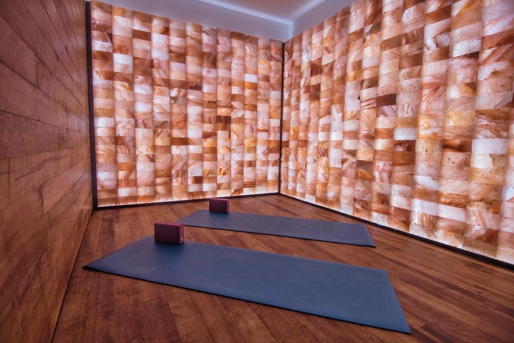 Himalayan salt room, spa, wellness, yoga room, meditation room, Interior Designs By Adrienne, Cranbrook BC