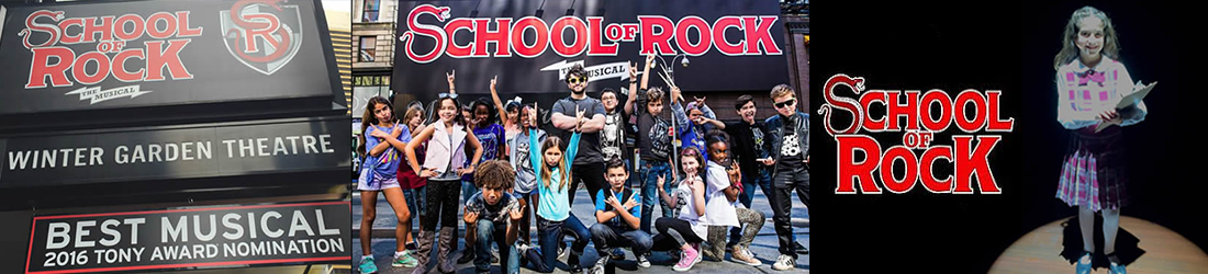 The Broadway Company of School of Rock, The Musical