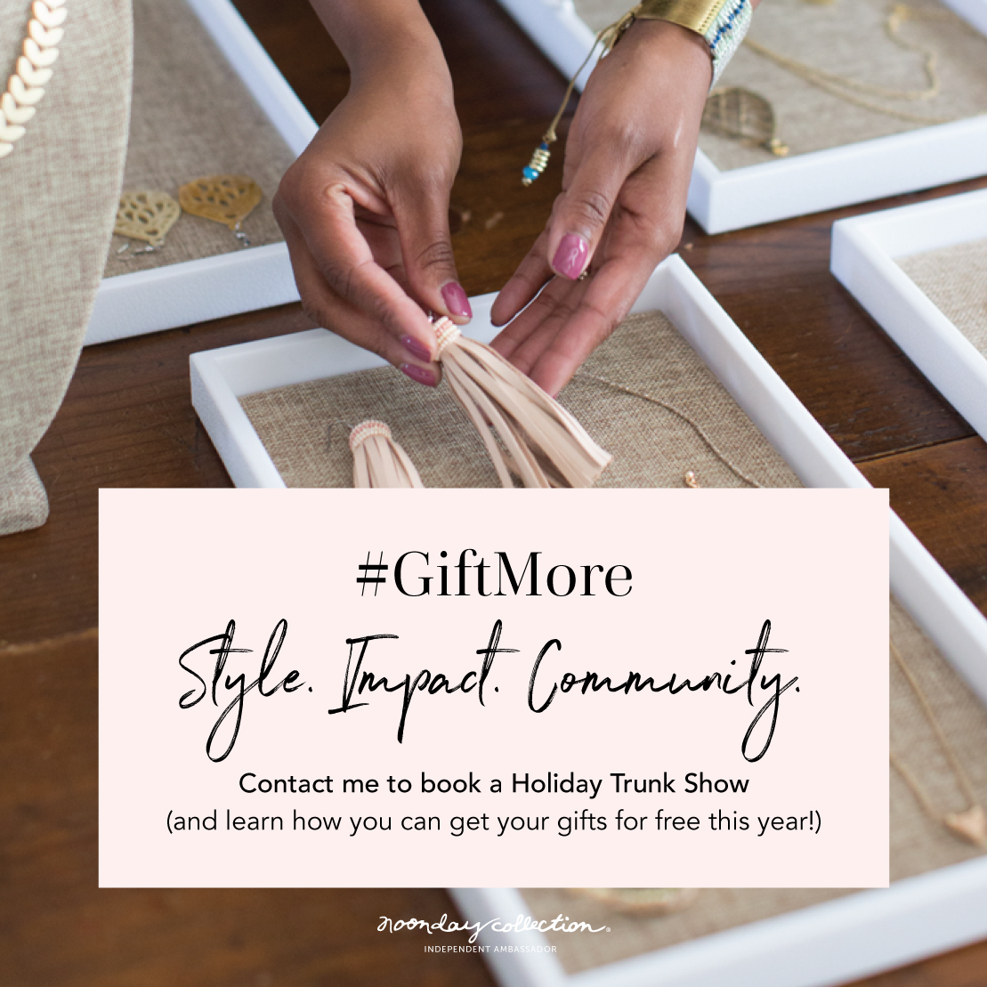 Gift More Style Impact Community