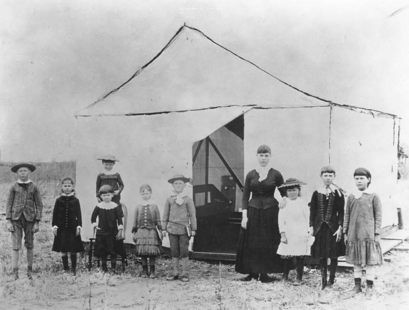 Grace Bush_Long Beach First Schoolteacher_LAPL Archives