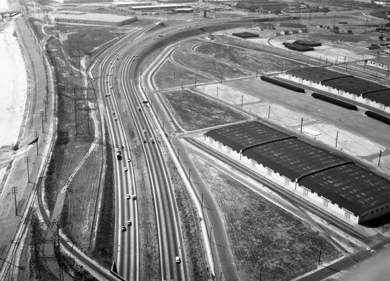 USC Collections Long_Beach_710_Freeway_looking_northwest.jpg