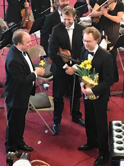Local pianist Luke Bell impressed the crowd during his performance with the Quinte Symphony