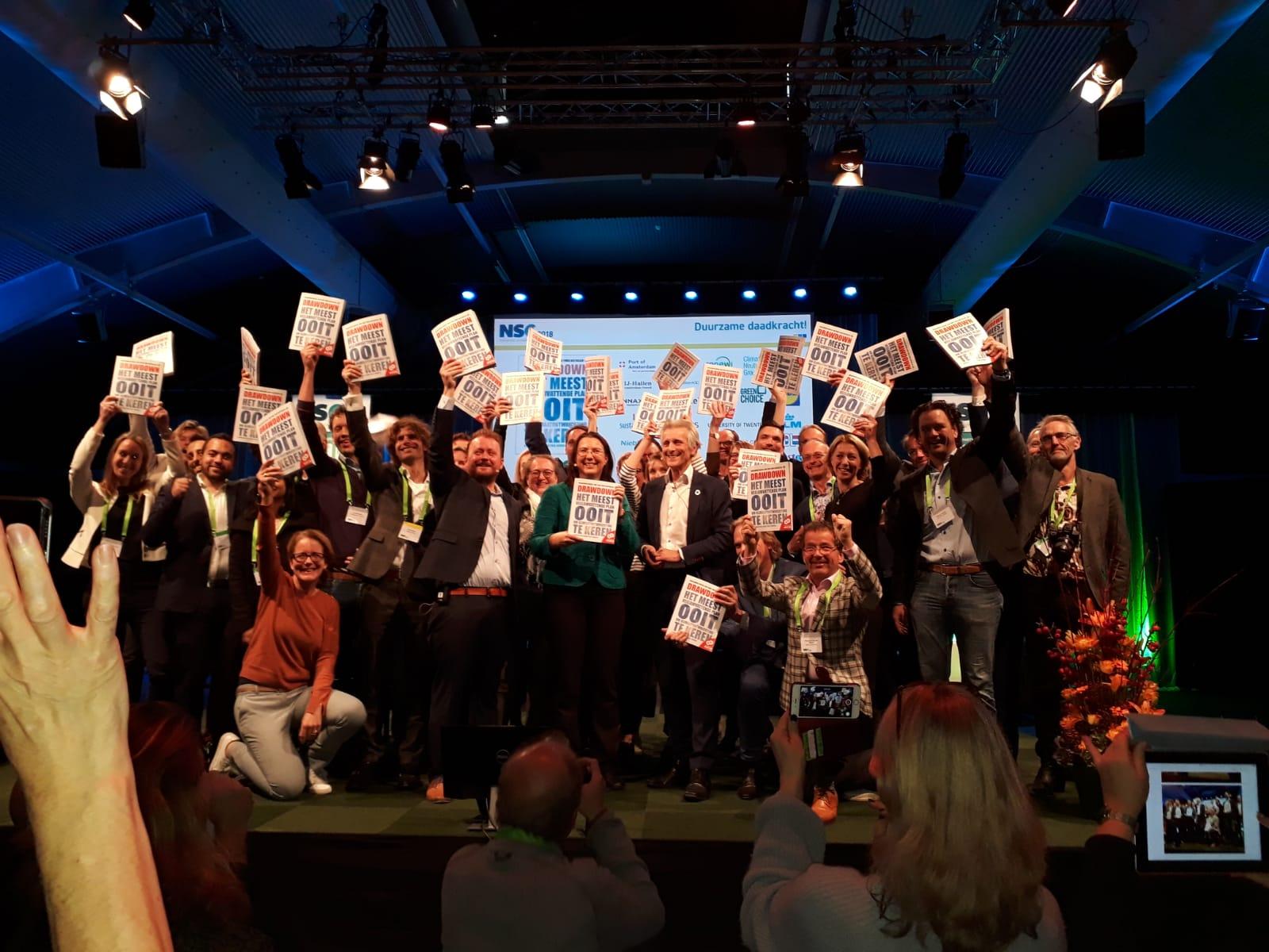 @ The launch of the Dutch translation of  Drawdown