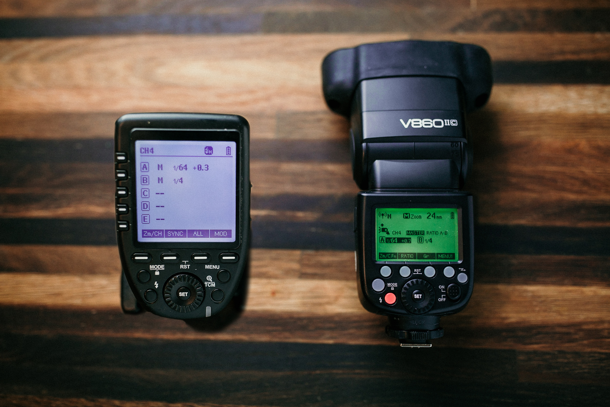 Godox Xpro trigger and V860 II speedlight are a great starting point for that off-camera flash goodness!