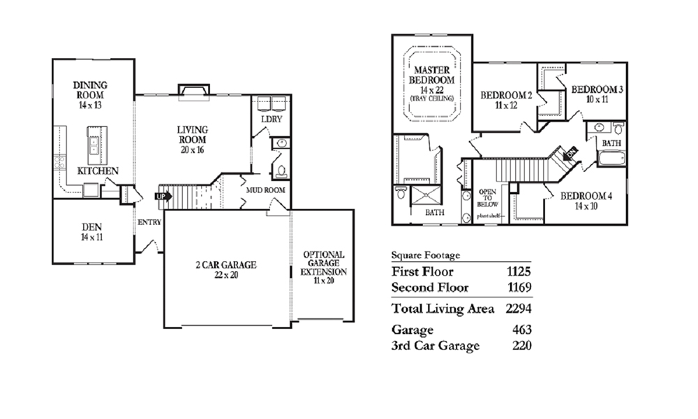 Bitterroot floor plan