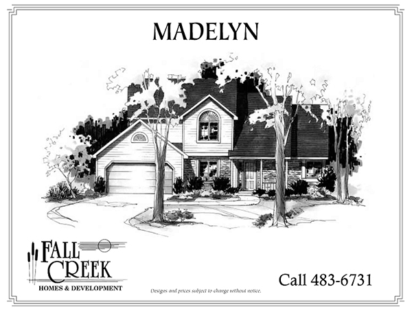 Madelyn - 1,951 sq. ft. | 4 bed | 2.5 bath